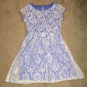 Girls blue dress💙 only worn once